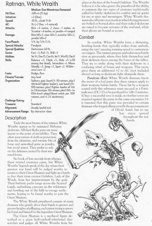 skeleton-mimicry-white-wraith-ratman-creature-collection-ii-dark-menagerie