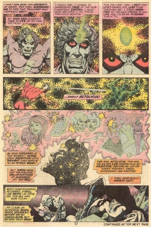 Soul Manipulation–Adam Warlock-Soul Germ-Strange Tales V1 #179
