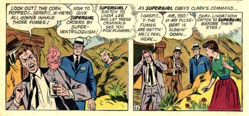 Sound Manipulation (voice)-Super-Ventriloquism-Action Comics #276 (1961)
