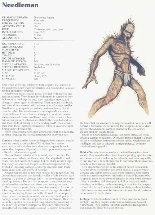 spike-protrusion-needleman-tsr-2166-monstrous-compendium-annual-volume-3