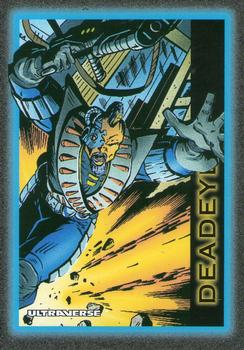 Superhuman Accuracy-1993 SkyBox Ultraverse-9Fr Deadeye