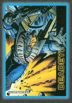 Superhuman Accuracy-1993 SkyBox Ultraverse-9Fr Deadeye