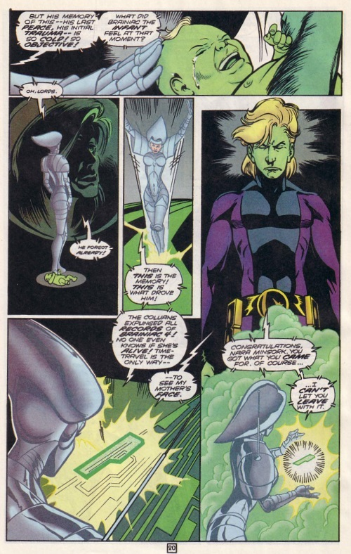 Superhuman Intelligence-Brainiac 5-Legion of Super-Heroes V4 #77-21