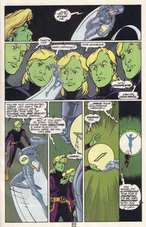 Superhuman Intelligence-Brainiac 5-Legion of Super-Heroes V4 #77-22