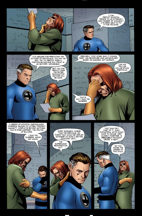 Superhuman Intelligence-Reed Richards-Fantastic Four #542 (2007)-21