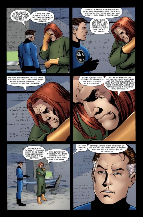 Superhuman Intelligence-Reed Richards-Fantastic Four #542 (2007)-22