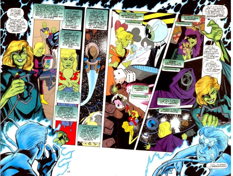 Superhuman Intelligence–Brainiac 5-Legion of Super-Heroes V4 #108