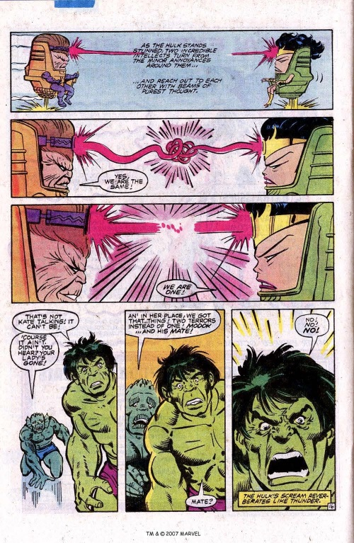 Superhuman Intelligence–Ms MODOK-The Incredible Hulk V1 #290-1