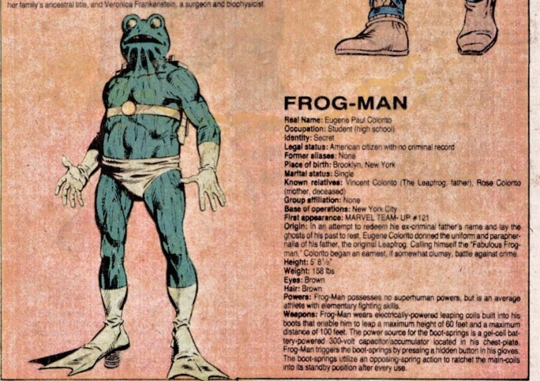 superhuman-leaping-frog-man-official-handbook-of-the-marvel-universe-v1-4