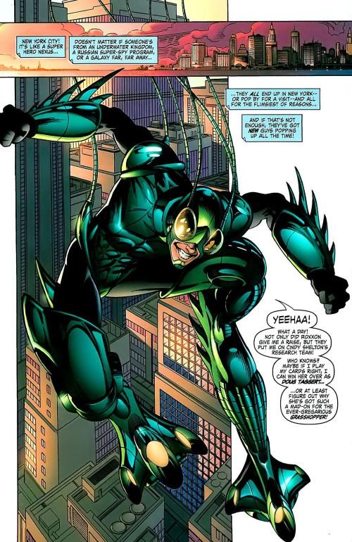 Superhuman Leaping–Grasshopper-GLA #2