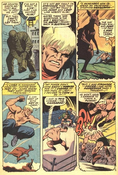 Superhuman Leaping–Kangaroo-Amazing Spider-Man V1 #81