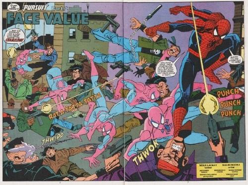 Superhuman reflexes–Spider-Man (Marvel)