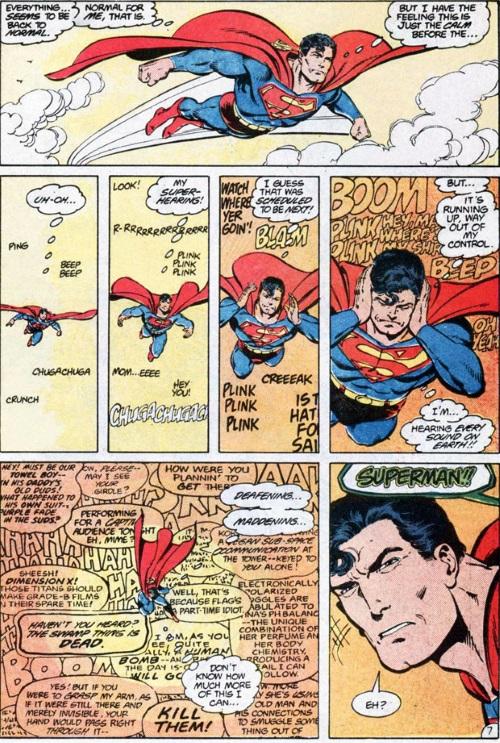 Superhuman Senses (hearing)-Superman