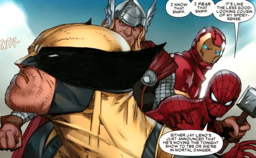 Superhuman Senses (smell)-Wolverine sniffing