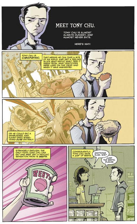 Superhuman Senses (taste)–Chew (Image)