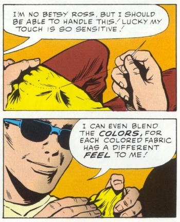 Superhuman Senses (touch)–Daredevil