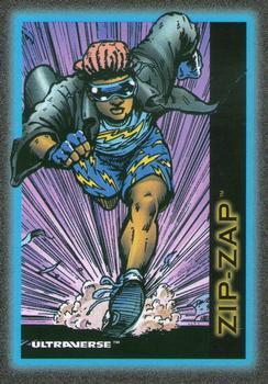 Superhuman Speed-1993 SkyBox Ultraverse-45Fr Zip-Zap
