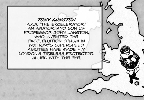 Superhuman Speed-Tony Langton aka The Excelerator-The Chimera Brigade (Titan)