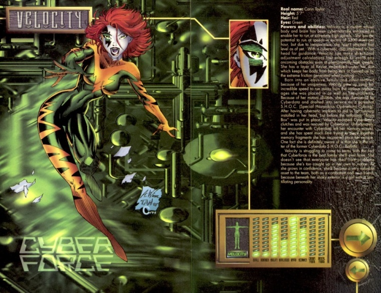 superhuman-speed-velocity-cyberforce-sourcebook-2