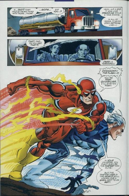 Superhuman Speed–DC vs Marvel-Marvel vs DC #2-27