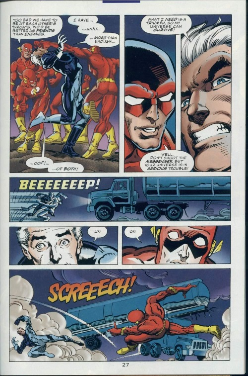 Superhuman Speed–DC vs Marvel-Marvel vs DC #2-28