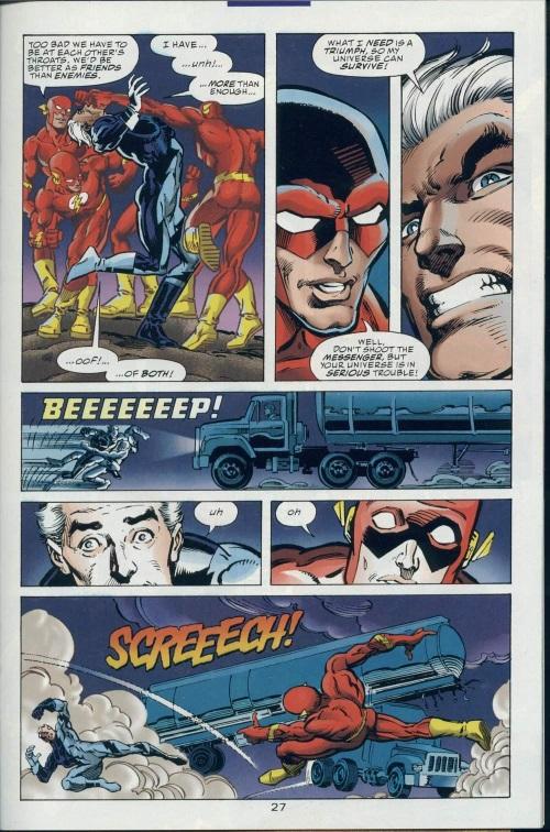Superhuman Speed–DC vs Marvel-Marvel vs DC #2-28