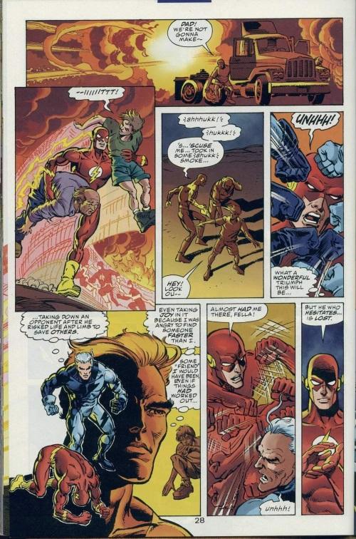 Superhuman Speed–DC vs Marvel-Marvel vs DC #2-29