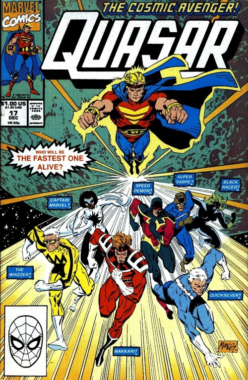 Superhuman Speed–Galactic Marathon - Quasar V1 #17-1
