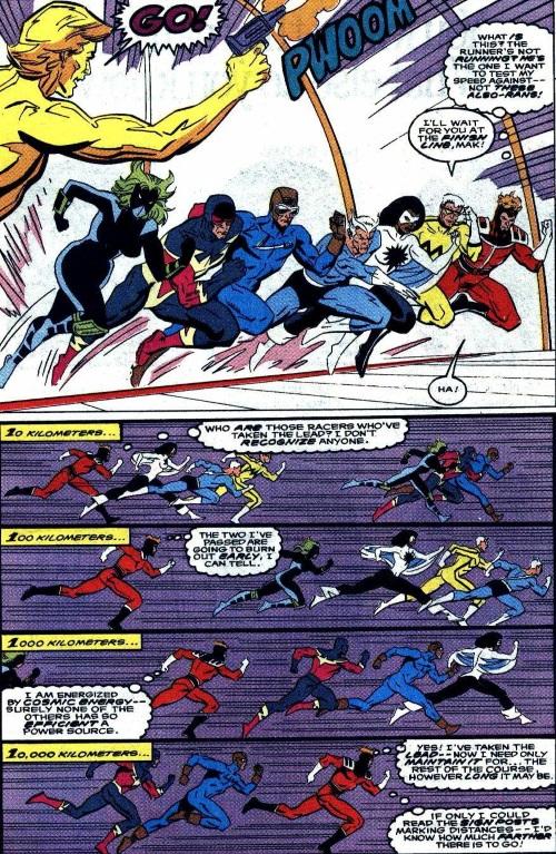 Superhuman Speed–Galactic Marathon - Quasar V1 #17-16