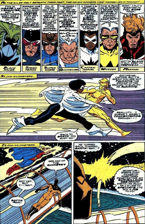 Superhuman Speed–Galactic Marathon - Quasar V1 #17-17