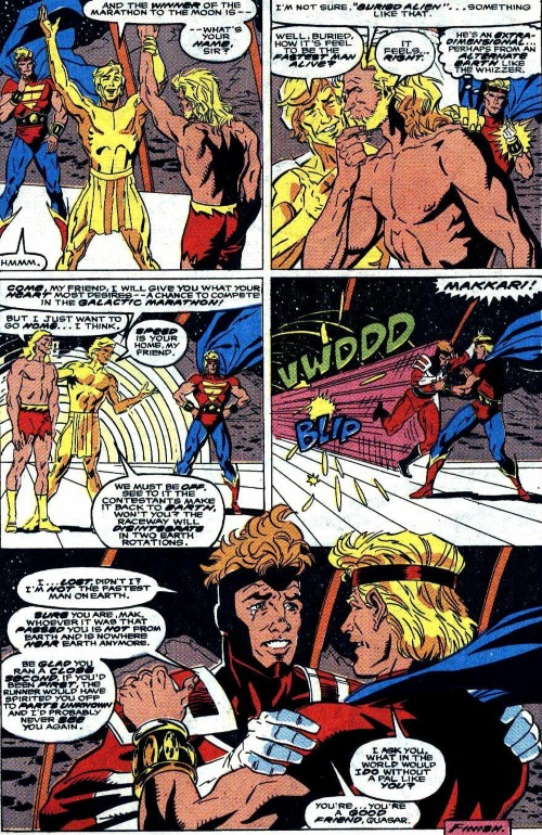 Superhuman Speed–Galactic Marathon - Quasar V1 #17-23