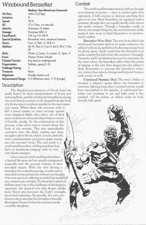 superhuman-stamina-wirebound-berserker-creature-collection-ii-dark-menagerie