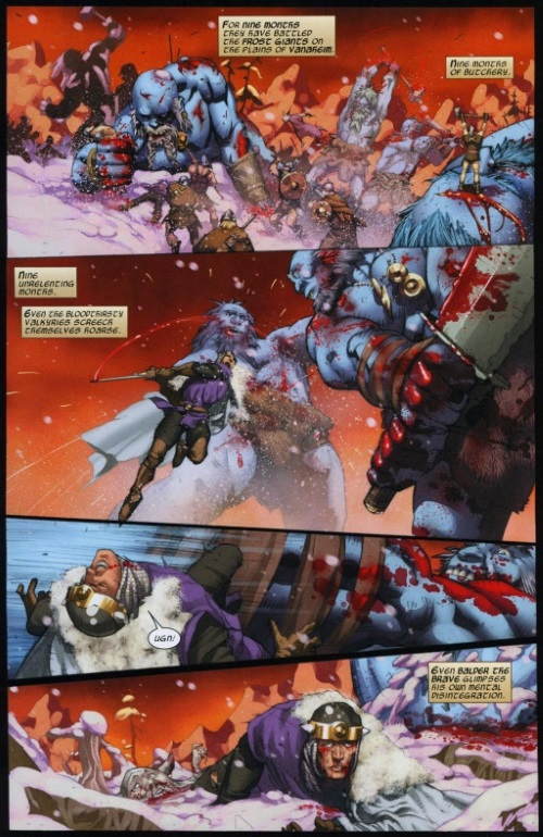 Superhuman Stamina–Thor-The Trial of Thor #1
