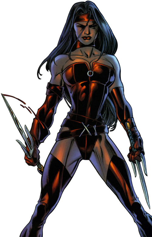 Superhuman Stealth–Elektra (Marvel)