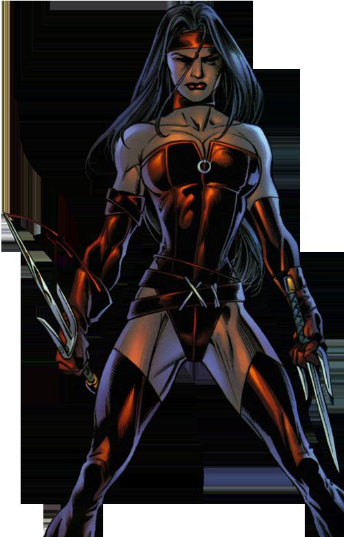 Superhuman Stealth–Elektra (Marvel)