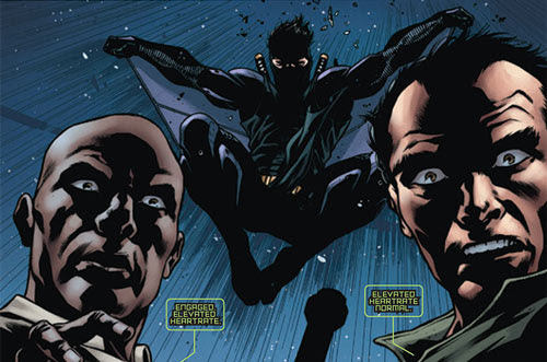Superhuman stealth–Ninjak (Valiant)