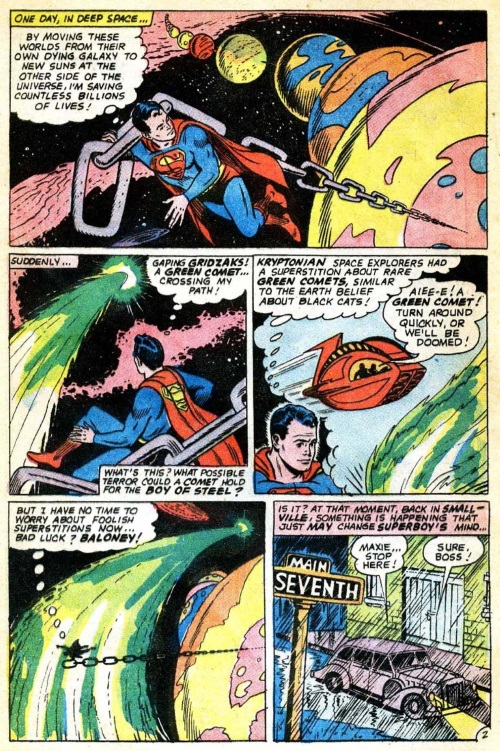 Superhuman Strength-Superboy V1 #140