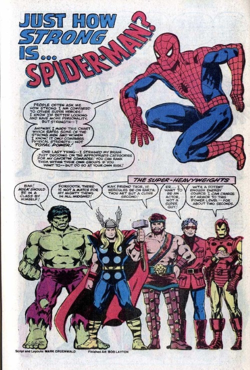 Superhuman Strength–Annual Amazing Spider-Man #15-41