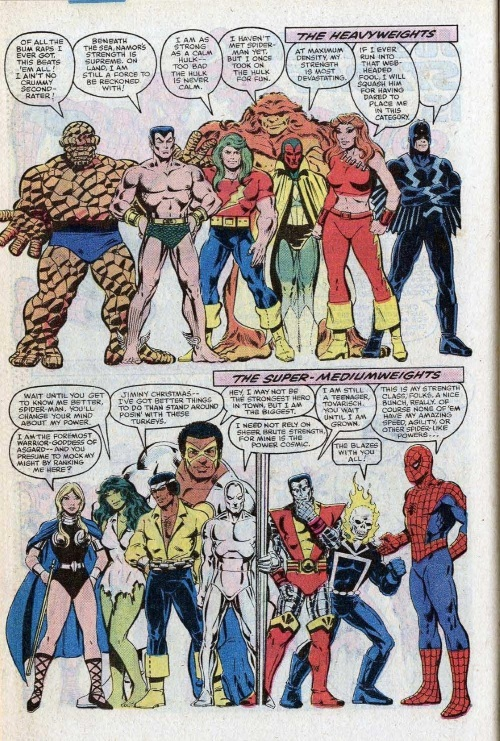 Superhuman Strength–Annual Amazing Spider-Man #15-42