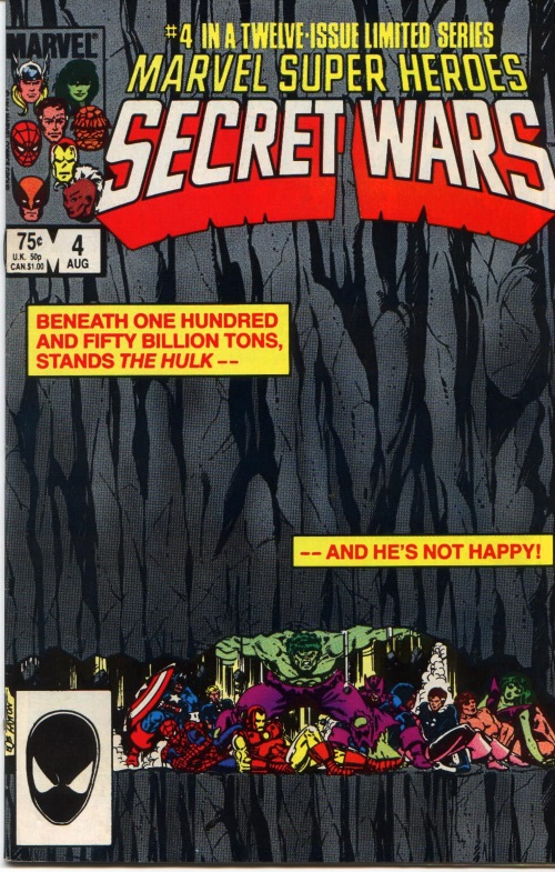 Superhuman Strength–Hulk-Secret Wars I #4