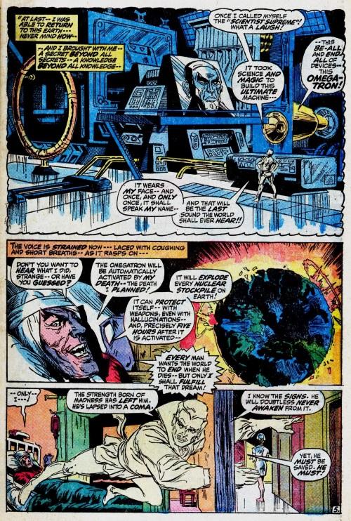 Technomagic-Omegatron-Marvel Feature V1 #1 (1971)