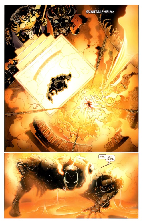 Technomagic-Uru Armor-Invincible Iron Man #509 (2011)