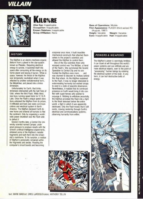 Technomimicry-Kilg%re -Who's Who in the DC Universe #10