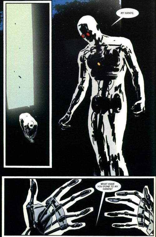 Technomimicry-Machine Man-Earth X #0 (1999)