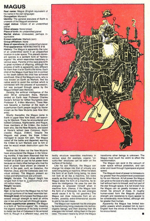 Technomimicry-Magus-Official Handbook of the Marvel Universe V2 #8