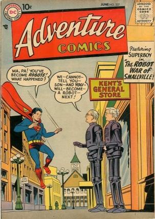 Technomimicry-OS-Superboy-Adventure Comics V1 #237