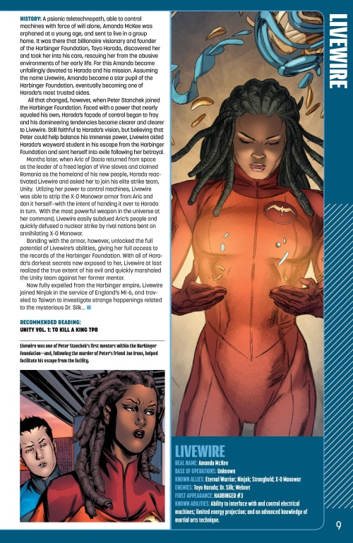 Technopathy-Livewire-Valiant Universe Handbook FCBD (2014)