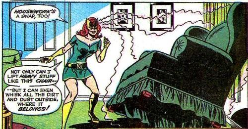 Telekinesis–Jean Grey (Marvel)