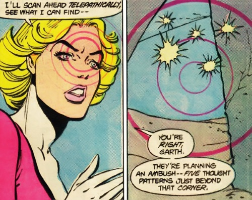 Telepathy–Saturn Girl (DC)