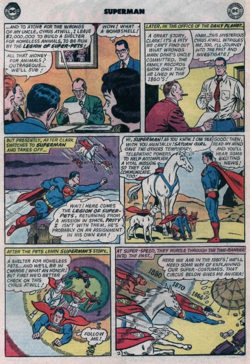 Telepathy–Superman V1 #176